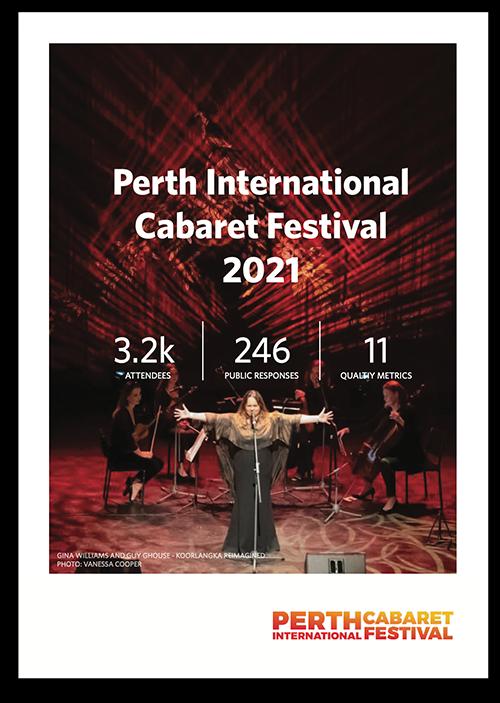 Perth International Cabaret Festival 2021 evaluation report